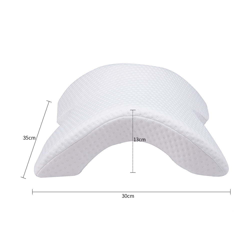 Image 2 - Memory Foam Pillow Anti pressure Hand Pillow Neck Protection Slow Rebound Multifunction Bedding Pillow Couple Pillow подушка-in Bedding Pillows from Home & Garden