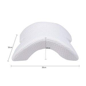 Image 2 - Memory Foam Pillow Anti pressure Hand Pillow Neck Protection Slow Rebound Multifunction Bedding Pillow Couple Pillow подушка