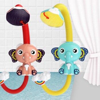 Baby Elephant Sprinkler Bath Toy 3