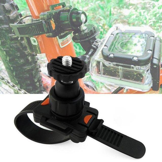 Draaibare Fiets Quick Release Zip Tie Strap Mount Houder Clip Voor Gopro Hero 8/7/6/5/4/3/3 +/2 Xiaomi Yi Sport Camera