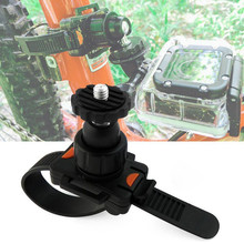 Rotatable Bicycle Quick Release Zip Tie Strap Mount Holder Clip for Gopro Hero 8/7/6/5/4/3/3+/2 Xiaomi Yi Sports Camera