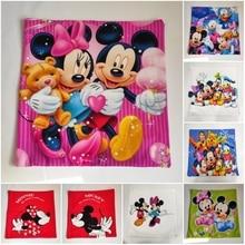 Disney Cartoon Mickey Minnie Mermaid Princess Decorative/Nap Pillow Cases Cover Pillowsham Cushion Cover for Baby Kids 45x45cm