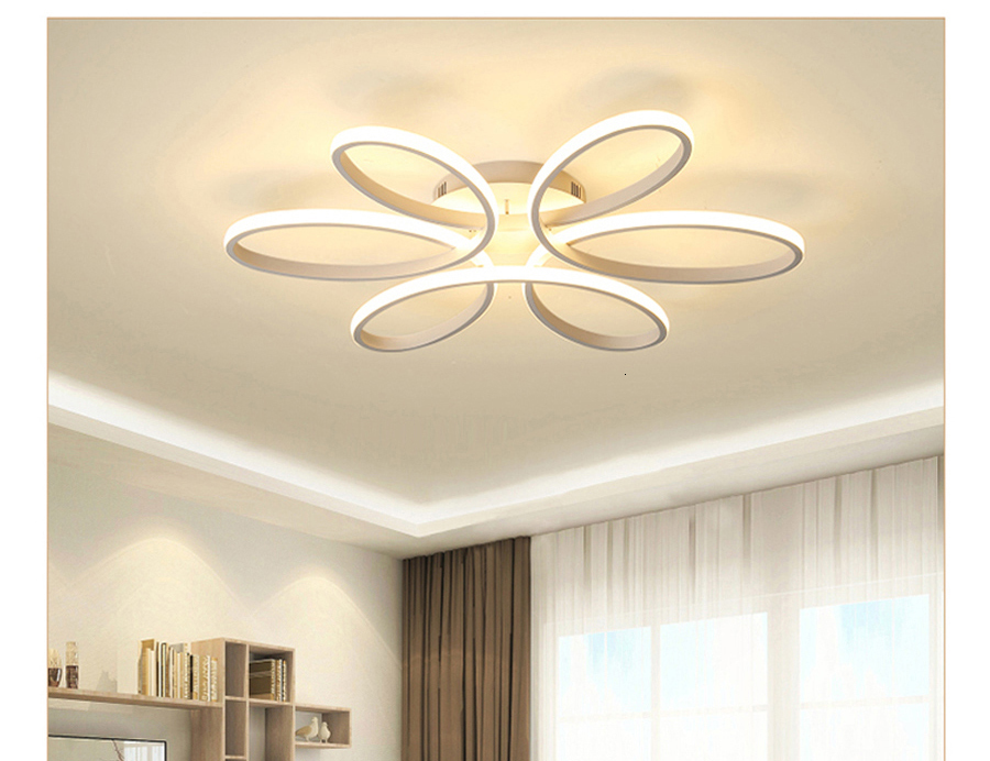 H5572ba7932ad43cf829b7ae895875f0eL Modern LED Ceiling Lights Remote control for Living room Bedroom 78W 72W 90W 120W Aluminum boby indoor plafond Lamp flush mount
