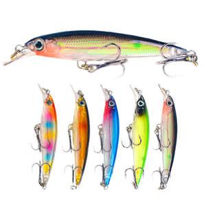 Sinking Minnow Lures Fishing-Bait Laser-Body-Wobbler Crankbait Small Hard Slowly 7cm/4.3g