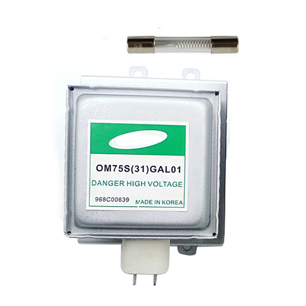 Microwave Oven Parts For Samsung Magnetron OM75S(31)GAL01 Refurbished Magnetron with high voltage fuse Microwave Oven 1PC