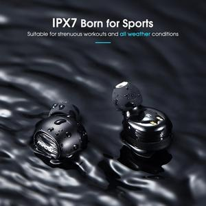 Image 4 - Mpow ipx7 Waterproof T5/M5 Upgraded TWS Earphones Wireless Earbud Bluetooth 5.0 Support Aptx 42h Playing Time For iPhone Samsung