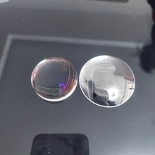 Lente convexa esférica do multi diâmetro da lente convexa do plano de vidro ótico k9