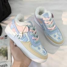 Vulcanize Shoes Sneakers Women Woman Luxury Brand Flats Slip-On Female Casual Apanzu