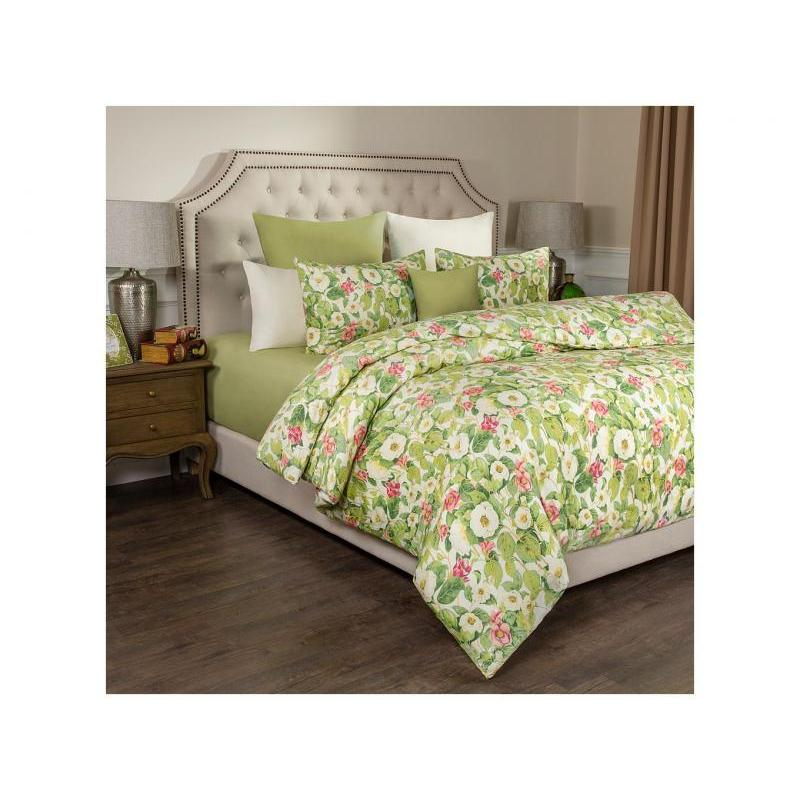 Bedding Set double-euro SANTALINO, JASMINE, light green
