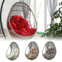 90x120 см, подвесная корзина, подушка для сиденья, утолщенная подвесная Подушка для стула для дома, гостиной, подвесные кровати, кресло-качалка,...