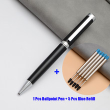 Ballpoint Roller Ball Pen Luxury Gift Box Office Accessories School Supplies Metal High End Business Office Gifts Signatur