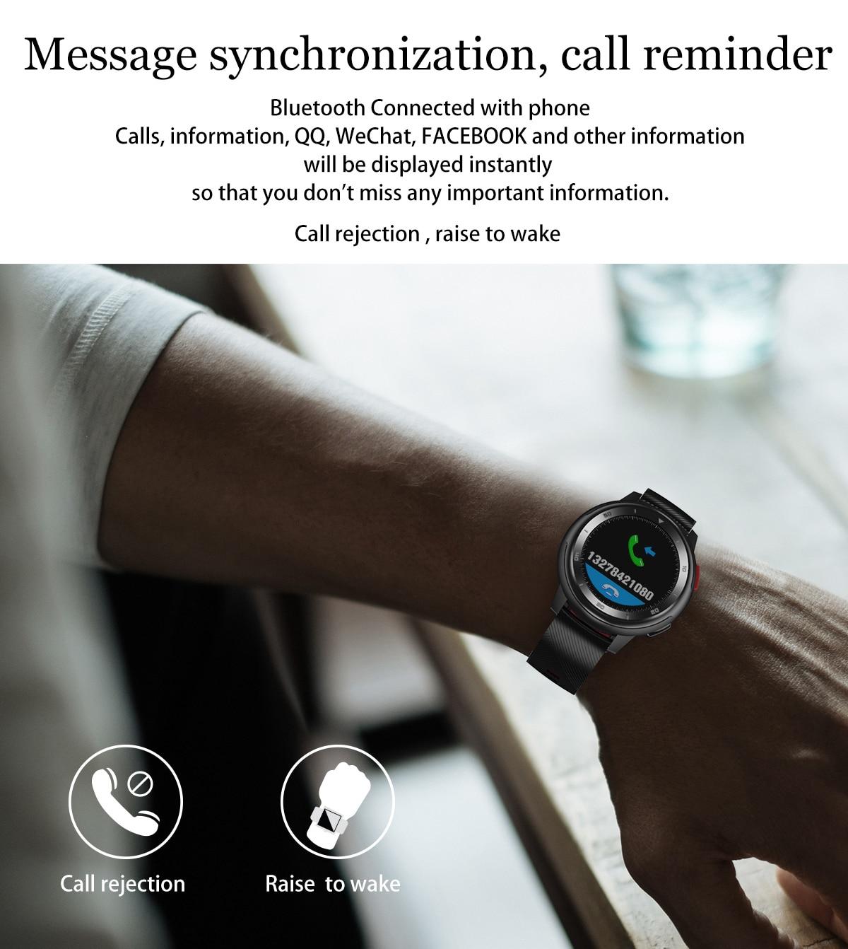 DT68 smartwatch IP68 Waterproof Bracelet 20 Dial Watch Faces Fitness Tracker Message Push bluetooth Men women Smart watch