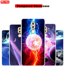 For Huawei Honor 6X Case Silicone Starry Sky Star Planet Print Phone Cases For Huawei Honor 7X 8X 9X Pro 5X Case Soft Slim Cover все цены