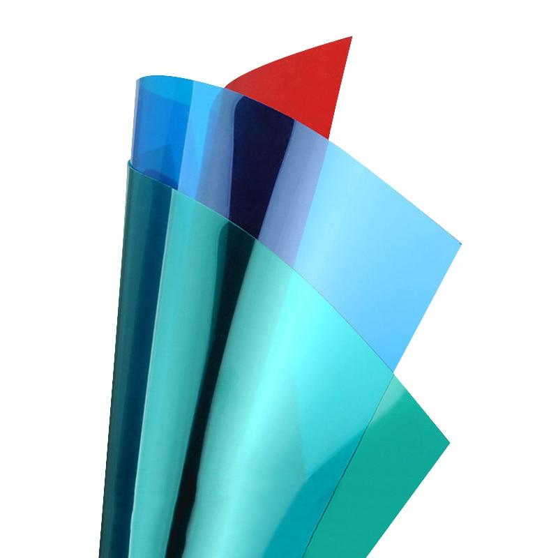 1pcs/3pcs PVC Colorful Plastic Sheet Transparent Sheet Model Building Kits For Children Kids Adult 200*300mm Thickness 0.3mm