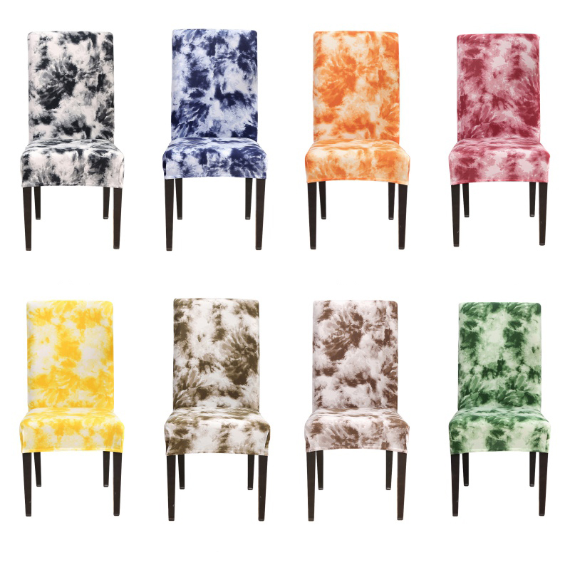 Colorful Graffiti Printed Stretch Chair Cover Big Elastic Seat Chair Covers Painting Slipcovers Chair Protector Cover Home Decor thumbnail