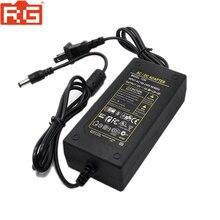 100 240V AC à DC adaptateur dalimentation chargeur adaptateur 5A 12V EU prise 5.5mm x 2.5mm pour Yongnuo Godox commutateur lampe à LED