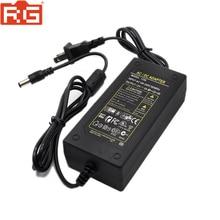 100 240V AC do DC zasilacz ładowarka adapter 5A 12V ue wtyczka 5.5mm x 2.5mm dla Yongnuo Godox przełącznik lampa LED