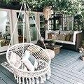 Качели-качели  подвесное кресло  подвесная корзина  колыбель для дома и балкона