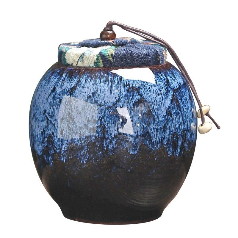 Ceramics Ashes Urn  Holder Pet Memorial Funeral Ashes Jar Urn For Human Cremation  Keepsake Pal Casket Seal Storage