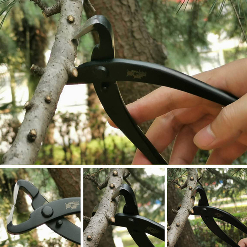 Durable Bonsai Shape Trimming Tools Branch Rough Pruning Scissors Round Edge Cutter Multi-Function Garden Tools Pruning Shears