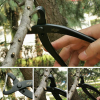 Durable Bonsai shape trimming tools branch Rough Pruning scissors Round Edge Cutter Multi Function garden tools pruning shears