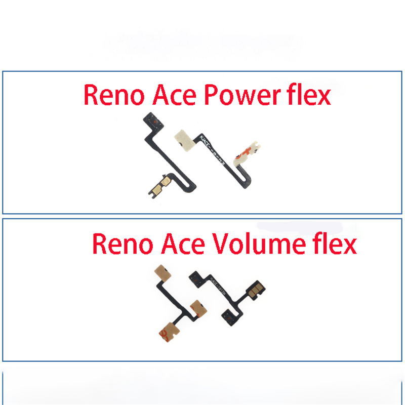 For Oppo Reno Ace Volume Button Power Switch On Off Button Flex Cable Replacement