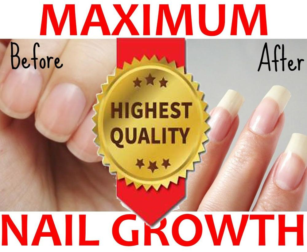 MAXIMUM NAIL GROWTH POLISH Booster Accelerator Calcium Gel Victoria Beatuty 12ml