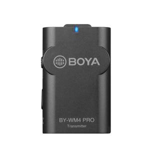 Image 5 - BOYA BY WM4 Pro K2 K1 téléphone sans fil Lav Microphone vidéo Audio Lavalier micro pour appareil photo reflex numérique DV Smartphone Vlog Streaming en direct