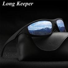 Long Keeper Brand Design Polarized Sunglasses Men Women Vint