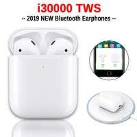 I30000 TWS auriculares inalámbricos 1:1 réplica de auriculares Air 2 Pop up Control de toque carga inalámbrica PK i200 i500 i1000 i9000 i10000 TWS