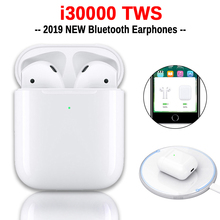 i30000 TWS Wireless Earphone 1:1 Replica Air 2 Pop up Earbuds Tap Control Wirele