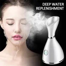 Hot Steamer Facial-Steamer-Machine Face-Sprayer Deep-Cleaning Nano-Ionic Beauty