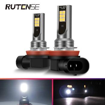 Światła przeciwmgielne H11 Led H4 H7 H8 H9 H11 9005 HB3 9006 HB4 Auto żarówki Led do reflektorów samochodowych lampa przeciwmgielna 12V 24V 12000LM 60W 6000K biały tanie i dobre opinie RUTENSE 12 V CN (pochodzenie) External Lights 3030 led super bright led csp bead Fog Lamps DRL Daytime Running Light H7 H11 9005 HB3 9006 HB4 H8 H9