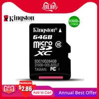 Kingston Micro SD Speicher Karte 32GB 16GB 64GB Class10 Mini SD Karte Class4 8GB 16GB mit TF Kartenleser Für Android SmartPhone