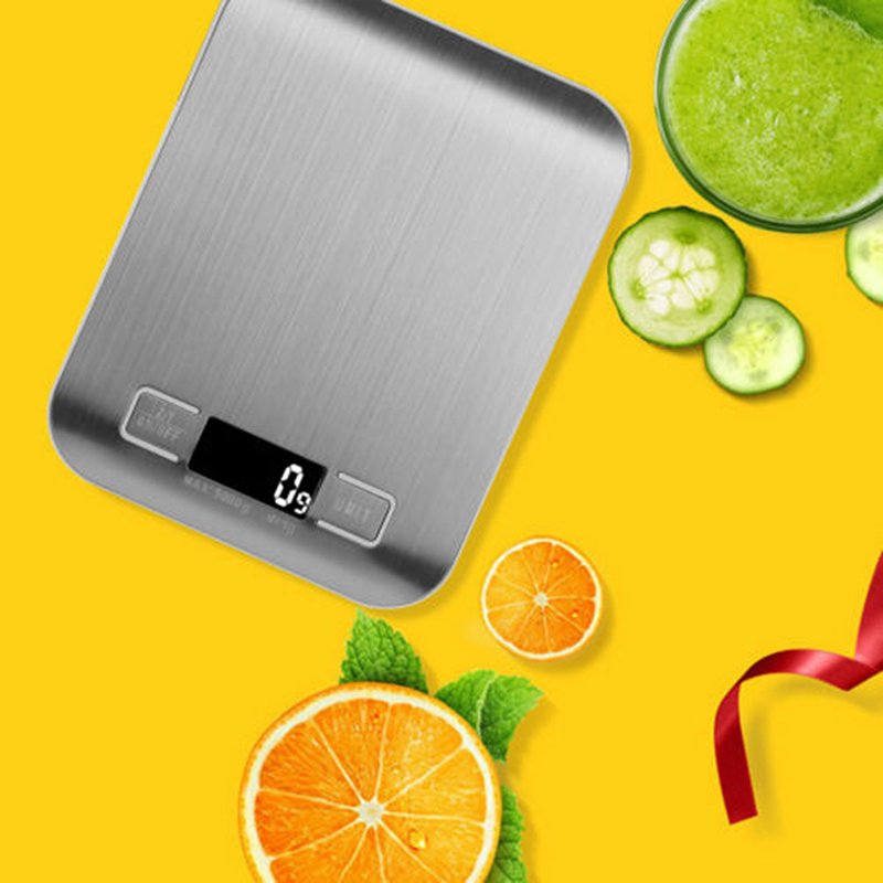 Electronic Food Scales Diet Scales Measuring Tool Slim Digital Baking Weighing Scale Household Simple Kitchen Supplies|Kitchen Scales| |  - title=