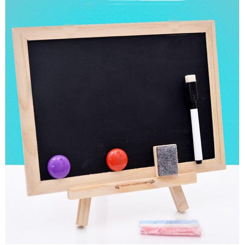 Children Wood Sketchpad Educational Toy Magnetic Small Blackboard Educational Writing Board Kindergarten Gift