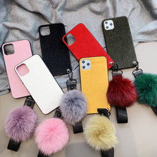 Cute Fur Case for Samsung Galaxy Note 10 Pro 8 9 Grand Prime G530 J2 J5 J7 Pro 2017 J4 J6 2018 J8 S7 Edge S8 S9 S10 Plus S10E(China)
