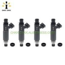 лучшая цена CHKK-CHKK 195500-3110 Z599-13-250 fuel injector for Mazda Protege 1.6L 1999~2003 Protege 1.5L 1997~1998