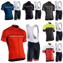 NW BICYCLING Maillot Culotte Wearpro TEAM Mens Summer Cycling Jersey sets 9D Gel Pad Bike unform cycling clothes Ropa Ciclismo цена и фото