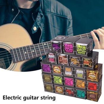 цена на Original Ernie Ball Super Slinky Electric Guitar Strings 009 010 Nickel Wound 6 Strings Guitar For Electric Guitar Accessories
