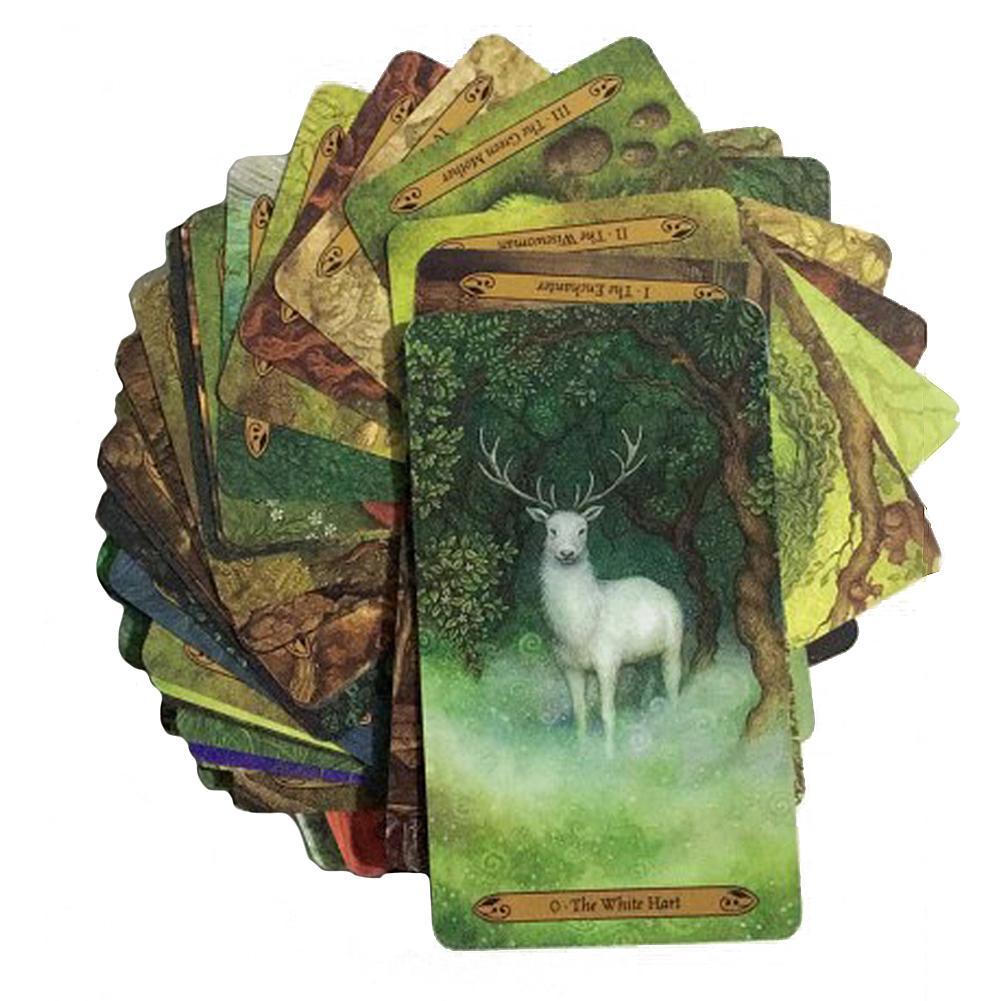 Forest Of Enchantment Tarot Tarot Card Game Card Tarot Family Party Card Game Best Destiny Prophecy Card Deck Tarot Card Game