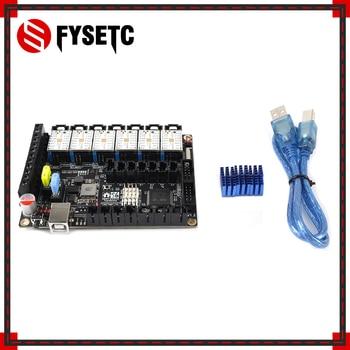 S6 V1.2 Board 32 Bit Control Board MX Connector With 6pcs TMC2208 UART Stepper Motor Driver Flying Wire VS F6 V1.3 SKR V1.3