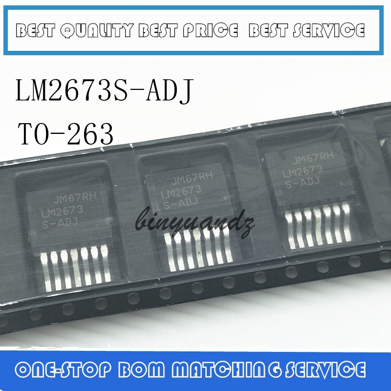 5PCS/LOT LM2673S-ADJ LM2673 S-ADJ TO-263 Best Quality
