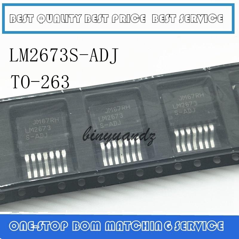 5PCS/LOT LM2673S-ADJ LM2673 S-ADJ TO-263 Best Quality