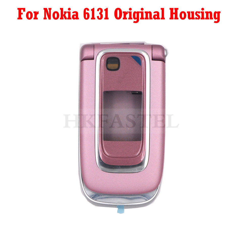 New Original Housing For Nokia 6131 Full Complete Mobile Phone Housing Cover Case  Without Keyboard No Keypad