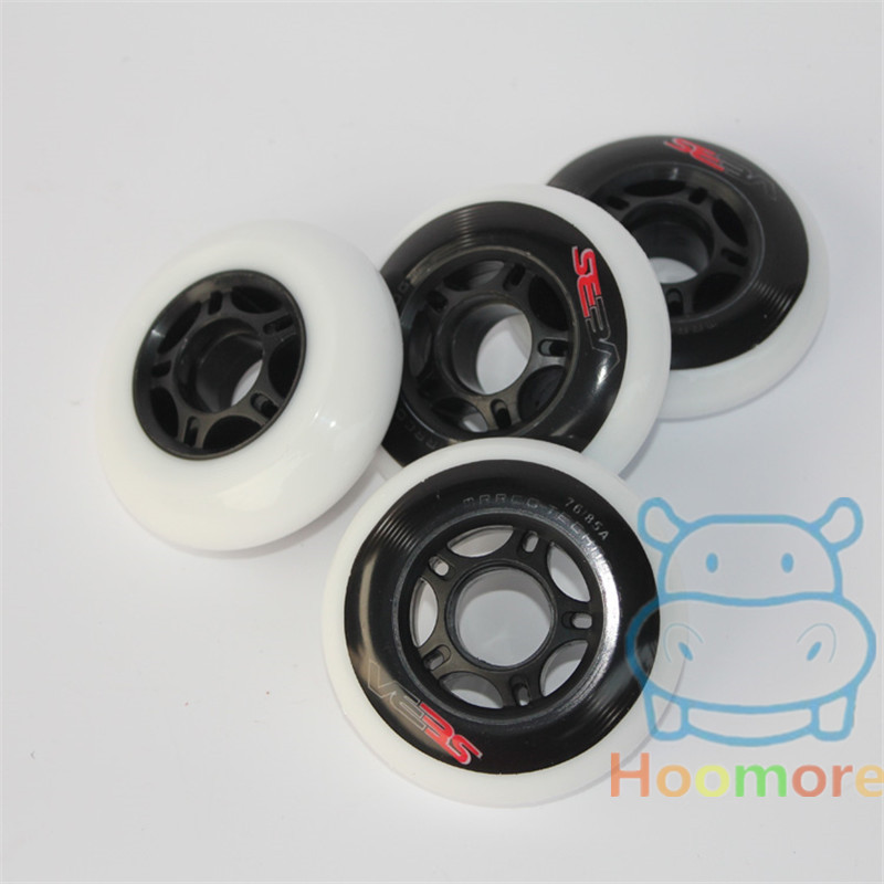 85A Multi-purpose Use Slalom Slide FSK Brake Wheel For SEBA High HV HL Purple, Skating Wheel 80mm 76mm 72mm