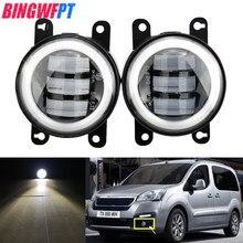 1 пара светодиодный туман светильник автомобильный глаз ангела для Peugeot 2008 3008 4007 4008 5008 107 207 307 301 308 408 407 607 Bipper Tepee