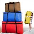 Большая вместительная тканая сумка, переносная домашняя сумка для хранения, очень большая оксфордская холщовая карманная спортивная сумка...