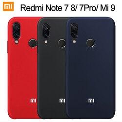Xiao mi Red mi Note 7 Чехол жидкий силиконовый мягкий защитный чехол Xiaomi mi 9 9T 8 SE A2 Lite красный mi Note 8 7 6 5 Pro 7A 6A чехол