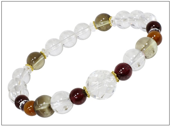 Hot high quality Natural  10mm  chamfered crystal stone bracelet Jewellery for lady gifts women bracelets